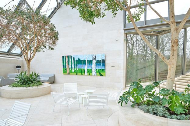 Les œuvres de Jean-MarieBiwer sont inspirées par la nature qui entoure au quotidien le peintre luxembourgeois. (Photo: Rémi Villaggi-Mudam Luxembourg)