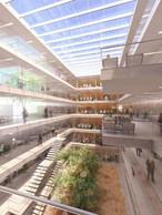 """Les projets sont exposés au Centre de Conférence, Place de l'Europe, à Luxembourg du 16 au 23 décembre 2010. ((Photo: """"Jean Monnet II""""))"""