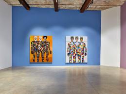 Vue de l'exposition «Bodied» de Jeff Sonhouse. ((Photo: Rémi Villaggi))