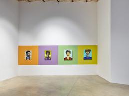"""Vue de l'exposition """"Bodied"""" de Jeff Sonhouse. ((Photo: Rémi Villaggi))"""