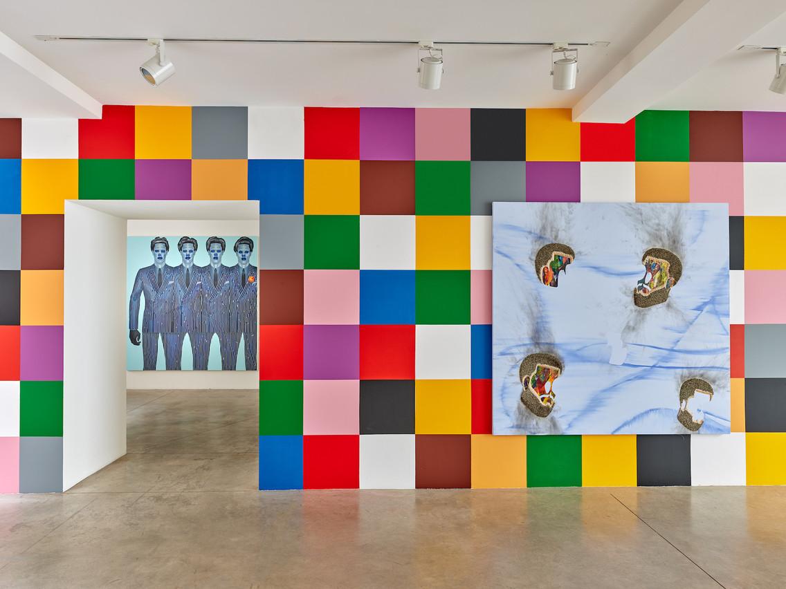 La Zidoun-Bossuyt Gallery présente une exposition de Jeff Sonhouse avec uniquement des œuvres récentes. (Photo: Rémi Villaggi)