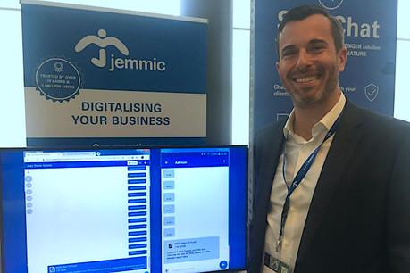 SecuChat, présentée par Jemmic et son CEO, Jean-Pierre Schmit, pourrait devenir la première messagerie de gestion de fortune utilisée par une banque luxembourgeoise sous peu. (Photo: DR/Paperjam)