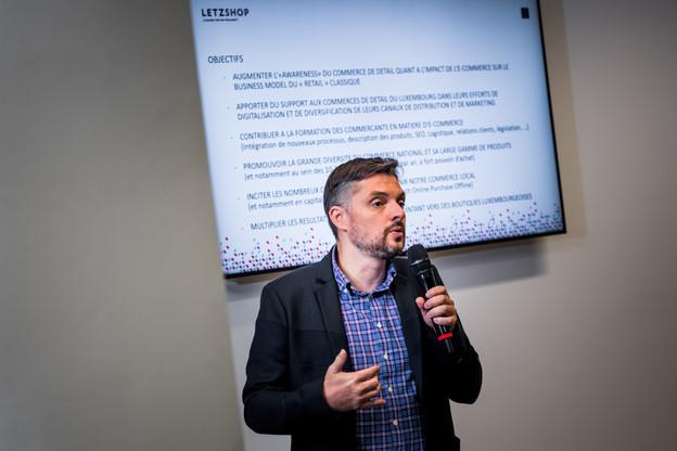 Jerry Klein devrait quitter son poste de coordinateur de la plateforme Letzshop dès le 1er février 2021. (Photo: Nader Ghavami)