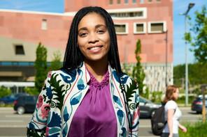Jana Degrott, ambassadrice du Luxembourg auprès de One Young World. (Photo: Andrés Lejona/Maison Moderne)