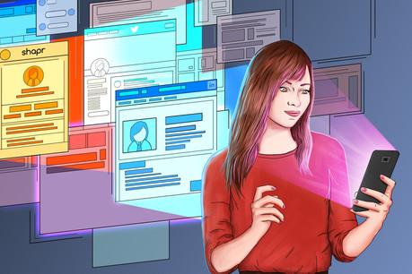 Quel que soit le réseau social choisipour développer son réseau, il est primordial de soigner sa photo de profil. (Illustration: Hadi Saadaldeen)