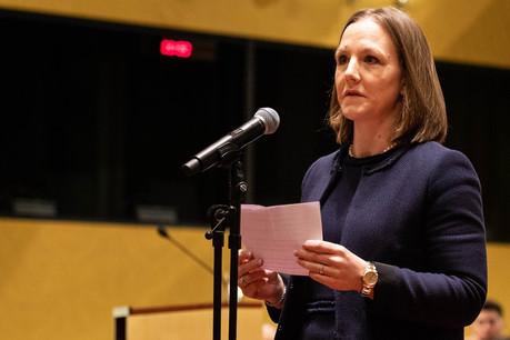 JoëlleElvinger succède à HenriGrethen à la Cour des comptes européenne après une carrière politique bien remplie. (Photo : CJUE)