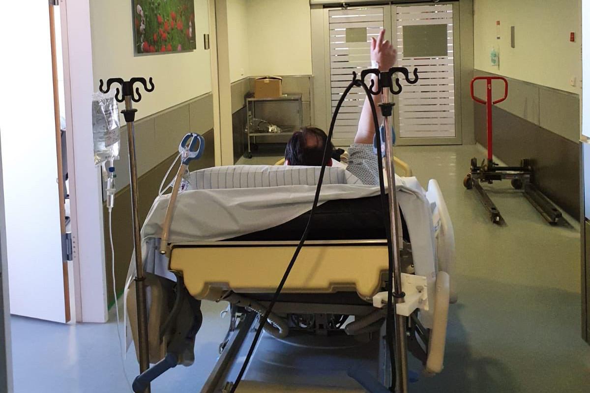 Un premier patient atteint du Covid-19 est sorti du service de réanimation où il avait été admis, a annoncé, mercredi, le CHL. (Photo: CHL)