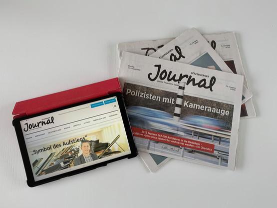 «Le digital occupe une part de plus en plus importante dans les habitudes et les stratégies», explique le communiqué du «Journal», qui souligne qu'en parallèle, «la production et la diffusion d'un quotidien papier deviennent de plus en plus onéreuses». (Photo: Maison Moderne)
