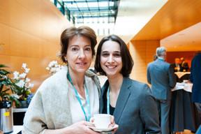 Erica Monfardini (Université du Luxembourg), Giulia Spalletti (Ministère de l'Économie) (© LaLa La Photo, Keven Erickson, Krystyna Dul)