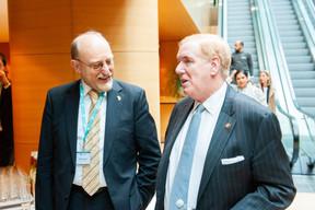 Heinrich Kreft (Ambassadeur de l'Allemagne au Luxembourg) et Randy Evans (Ambassadeur des Etats-Unis au Luxembourg) (© LaLa La Photo, Keven Erickson, Krystyna Dul)