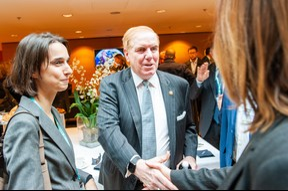 Au centre Randy Evans (Ambassadeur des Etats-Unis au Luxembourg) (© LaLa La Photo, Keven Erickson, Krystyna Dul)