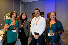 Veronika Wydeau (EIPA Luxembourg), Isabelle Fuca (PwC), Ludovic Clerc (JP Morgan) et Céline Ancelet-David (IFE by Abilways) ((Photo: Patricia Pitsch / Maison Moderne))