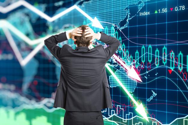 Les bourses européennes clôturaient toutes dans le rouge lundi soir. (Photo: Shutterstock)