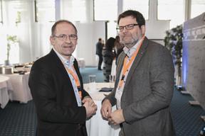 Christophe Verelst (Infos-Com) et Rudy Lafontaine (Dots) ((Photo: Jan Hanrion / Maison Moderne))