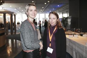Stéphanie Law (Saharchitects) à droite ((Photo: Jan Hanrion / Maison Moderne))