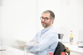 Manuel Da Silva (Artemis Information Management) ((Photo: Julian Pierrot/Maison Moderne))