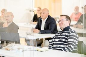Thierry Manconi (Thierry Manconi)  et Hervé Collignon (e-TIC) ((Photo: Jan Hanrion / Maison Moderne))