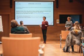 Carine Cardoni et Delphine Anzevui (Emo-Skills) ((Photo: Simon Verjus / Maison Moderne))