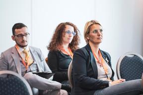 Lionel Ferlini (Huxley Luxembourg), Marion Mokhtari (Talantlers) et Caroline Lamboley (Lamboley Executive Search) ((Photo: Patricia Pitsch/Maison Moderne))