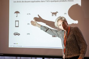 Karine Bellony (VAT Solutions) ((Photo: Jan Hanrion/Maison Moderne))