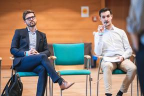 Bruno Van de Vloet (Advisory Key) et Martin Treabol (Wikitree) ((Photo: Simon Verjus/Maison Moderne))