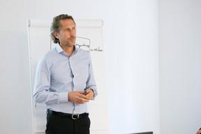 Pascal Meier (Edouard Franklin) ((Photo: Jan Hanrion / Maison Moderne))