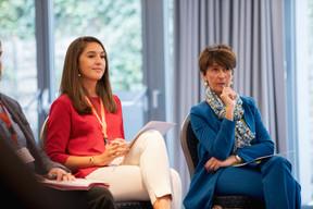 Florence Lemeer-Wintgens (Look@work), à droite ((Photo: Jan Hanrion / Maison Moderne))