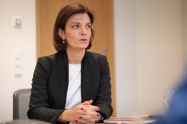 JulieBecker a rejoint la Bourse de Luxembourg en juillet2013. (Photo: Matic Zorman/Maison Moderne)