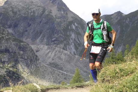 JulienThibault-Liger a bouclé les 160km de l'UTMB autour du Mont-Blanc en 42heures. (Photo: DR)