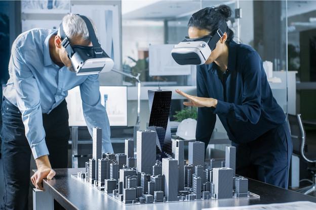 À l'échelle d'un quartier, le jumeau numérique peut être utilisé dans le cadre d'une consultation citoyenne, par exemple. (Illustration: Shutterstock)
