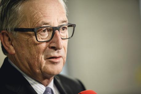Jean-Claude Juncker:«Lorsque je veux parler aux Belges, je vais à Arlon...» (Photo: Jan Hanrion/Maison Moderne/Archives)