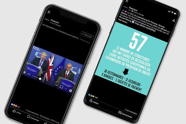 La conclusion amusante du point presse de Boris Johnson et Jean-Claude Juncker après la conclusion d'un nouvel accord sur le Brexit a fait sourire les internautes sur les plates-formes sociales. (Photo: Maison Moderne)
