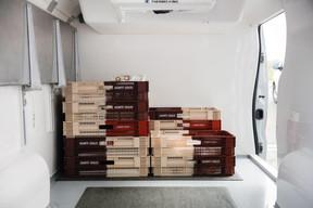 Le service traiteur et les livraisons sont toujours assurés, surtout en cette veille de Pâques. ((Photo: Romain Gamba / Maison Moderne))