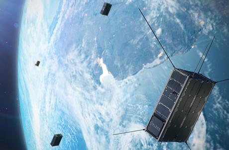Kleos Space a réussi le lancement de ses KSM1, samedi, avec le lanceur indien. (Photo: Kleos Space)