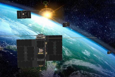 Kleos lancera sa troisième grappe de satellites en décembre sur un Falcon9 de SpaceX. (Photo: Kleos)