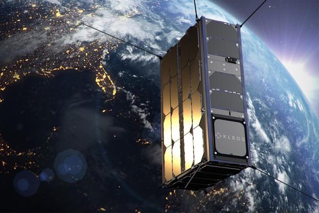 Kleos vise un lancement fin2021 sur SpaceX pour son troisième groupe de satellites. (Visuel: Kleos Space)