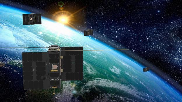 Bientôt quatre groupes de satellites pour l'entreprise de l'espace Kleos. (Photo: Kleos)