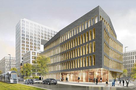 L'immeuble Kockelscheuer est propriété du fonds d'investissement NEIFIII, géré par BNP Paribas REIM Luxembourg. (Illustration: Fabeck Architectes)