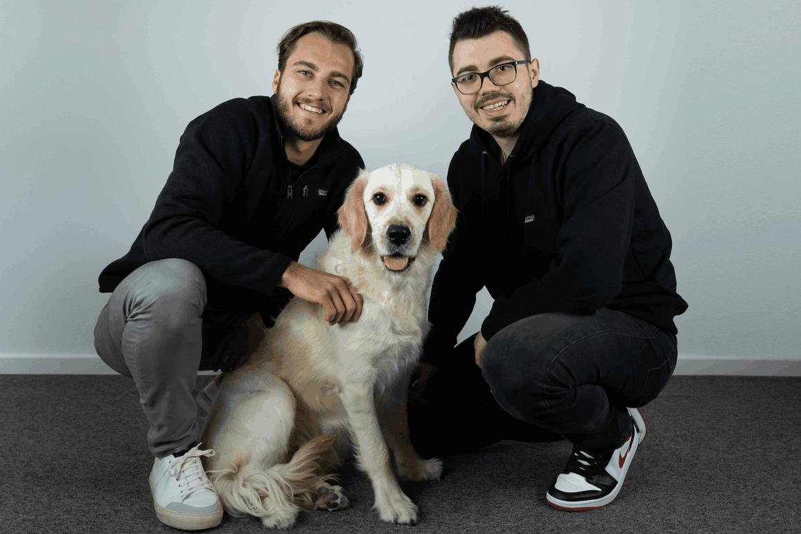Deux bonnes nouvelles en une semaine pourFelixHemmerling et JulienCasse: Kodehyve fera partie du Fit4Start et a levé 1 million d'euros. (Photo: Kodehyve)