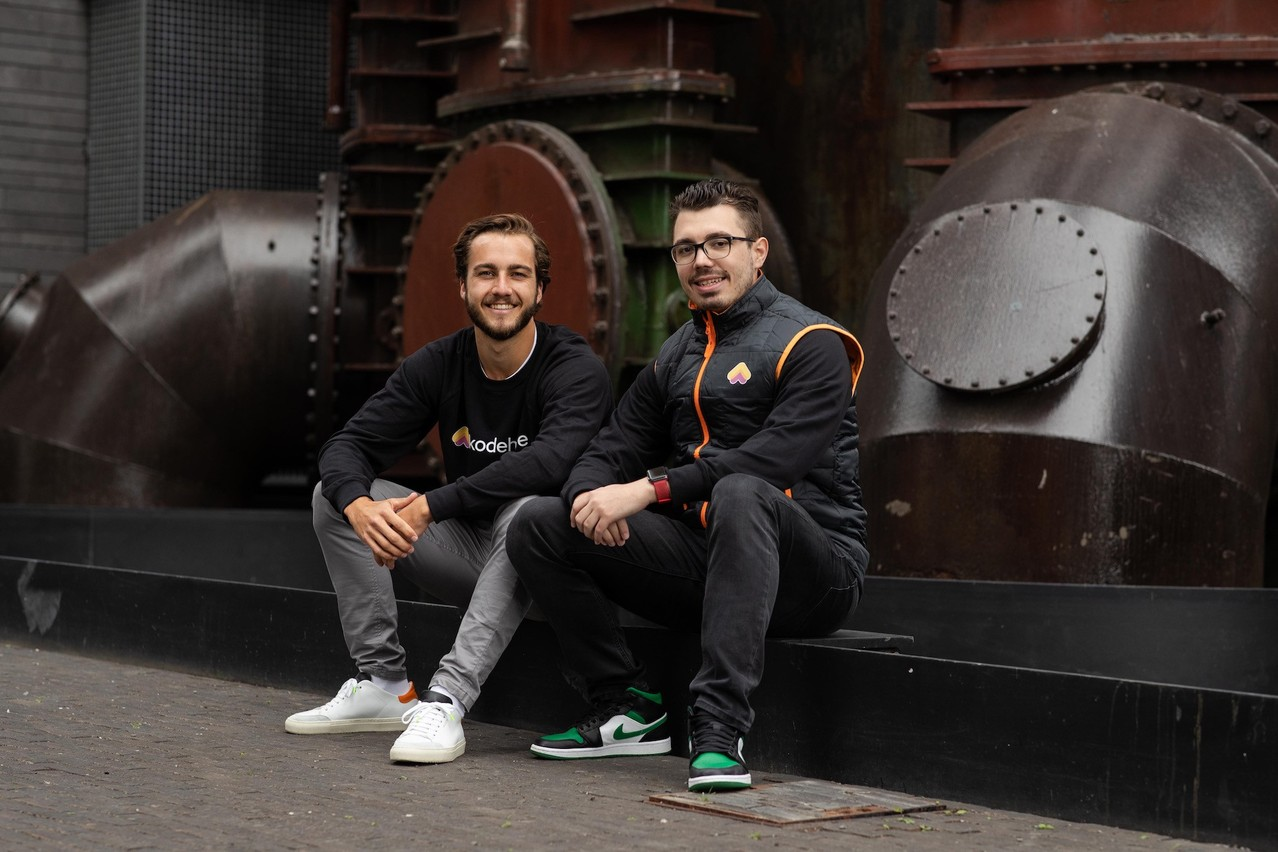 Felix Hemmerling et Julien Casse sont les cofondateurs de Kodehyve. (Photo:Kodehyve)