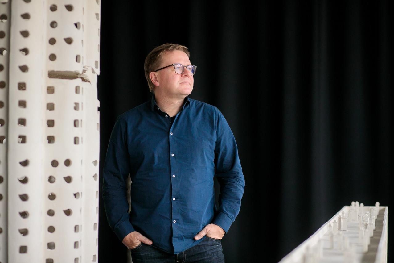 ChristianMosar est le nouveau directeur de la Konschthal à Esch-sur-Alzette. (Photo: Matic Zorman / Maison Moderne)