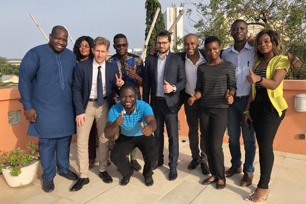 Au Togo, l'équipe de Koosmik a déjà séduit plus de 60.000 utilisateurs qui n'avaient pas de compte bancaire. (Photo: Koosmik)
