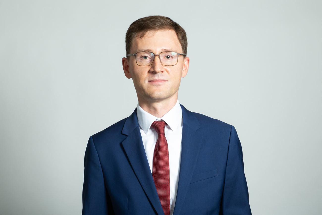 Ruslan Tumanshin, partner, Banking & Insurance Audit. (Photo: KPMG Luxembourg)