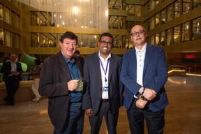 Karan Ramphul (KPMG) et Philippe Meyer (KPMG) ((Photo: Nader Ghavami))