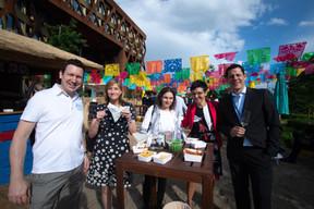 Stefan Kraiker (KPMG), Simone Meiers (KPMG) et Juergen Rieder (KPMG) ((Photo: Nader Ghavami))