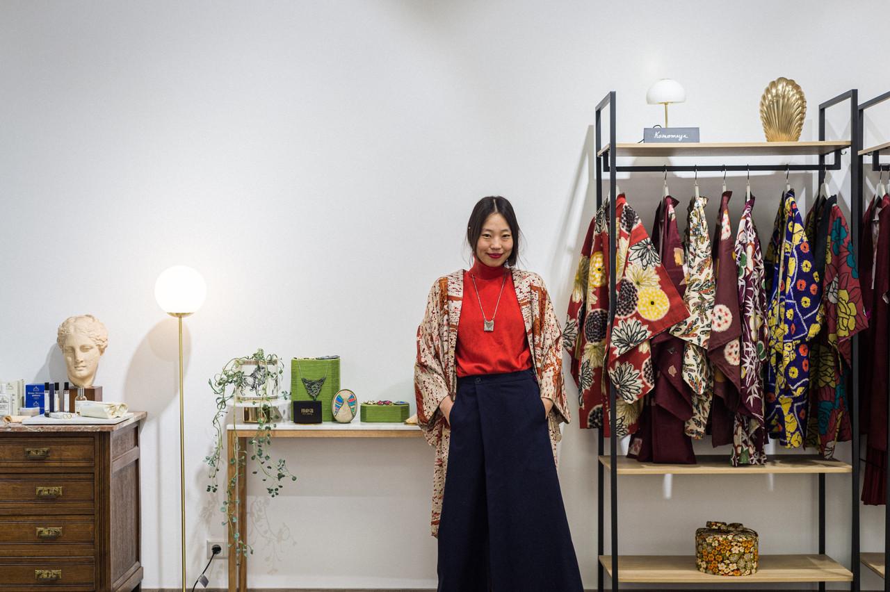 Minhye Jung, fondatrice de la boutiqueKyō. (Photo: Mike Zenari/Maison Moderne)