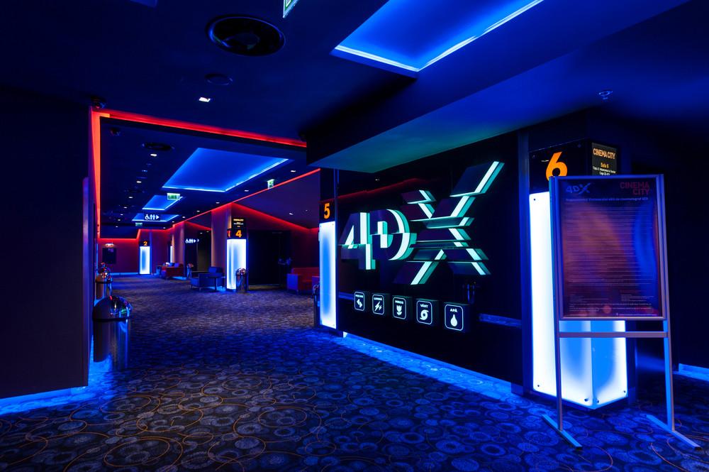 Une salle de cinéma 4DX pour une immersion totale dans le film. (Photo: Shutterstock)