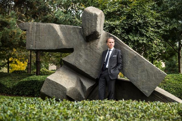 Hugues Delcourt clôture cinq années à la tête de la Bil sur des bons chiffres. (Photo: Anthony Dehez/archives)