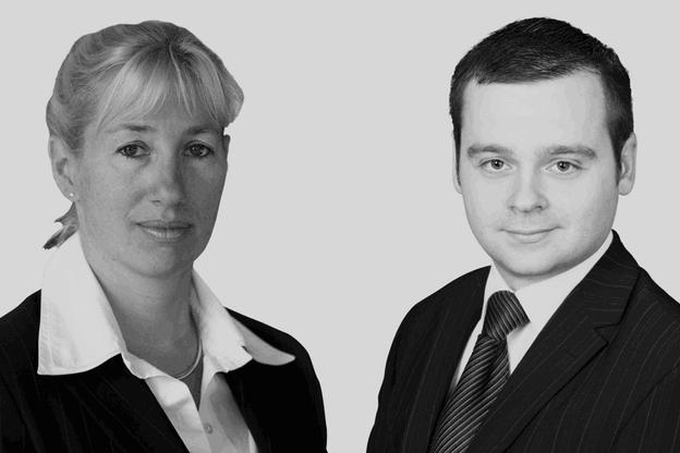 Véronique Hoffeld, avocate chez Loyens & Loeff, etMathieu Rinck, auditeur à la Commission nationale pour la protection des données. (Photo: Maison Moderne)