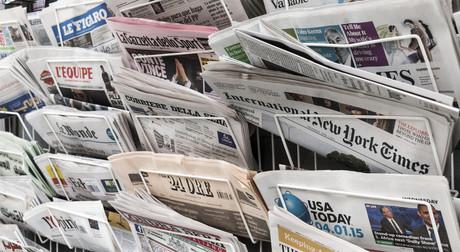 Les conditions des journalistes sont bonnes dans seulement un quart des pays du monde. (Photo: Shutterstock)